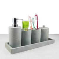Bathroom Set Perlengkapan Kamar Mandi Batu Alam