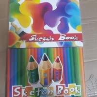 Sketch book Kiky A5 50 Sheets