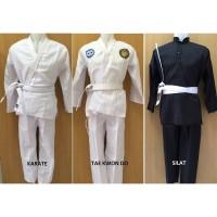 Baru GROSIR Baju Karate Taekwondo Silat Untuk Anak-anak Dan Dewasa MUR