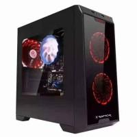 Casing PC / Komputer Gaming Power Up Raptor Black Strike 1501