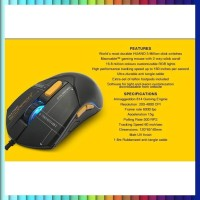 ARMAGGEDDON GAMING MOUSE SCORPION 7 -RGB MOUSE- FREE MOUSEPAD LIMITED