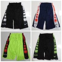 Celana Basket training Nike Elite Stripe Hitam Putih Grade Original