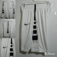 Celana Basket training Nike Elite Stripe Putih Hitam Grade Original 2