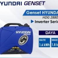 HYUNDAI Generator Genset Listrik 2880 di-N 2000 Watt