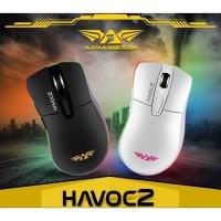 Mouse Gaming Armaggeddon Havoc 2 - 4800Cpi RGB Free Calibre Glove