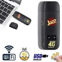 Modem 4G LTE Wifi Dongle Jazz W02-LW43 Wingle dengan SIM Card Slot