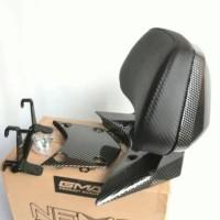 Behel sandaran jok belakang motor Nmax PCX karbon