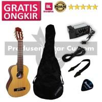 Guitalele Akustik Elektrik Gitarmini Gitar lele Yamaha GL 1 Custom