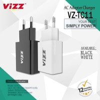 Adapter Batok Charger Vizz 1 USB VZ-TC11 Original Fast Charging