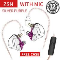 Knowledge Zenith KZ ZSN - In Ear Earphone - HYBRID Dual DRIVER