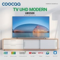 COOCAA 50 inch SMART NETFLIX DIGITAL LED 4K UHD TV -YOU TUBE HDMI