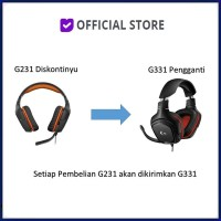Logitech G231 Prodigy Gaming Headset Original Dan Resmi