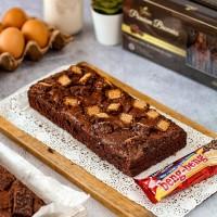 Brownies Topping Beng-beng   Brownies Panggang   Kue Bolu Coklat