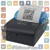 Zjiang Mini Portable Bluetooth Thermal Receipt Printer -`E39UHB- Black