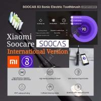 Xiaomi Soocas X3 Soocare Sonic Electric Toothbrush Sikat Gigi Elektrik