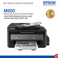 Printer Epson M200 Mono All in One Ink Tank