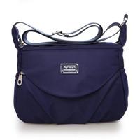 tas selempang wanita shouder bag waterproof import nylon Import Nj14
