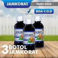 Jamkorat Jamu Madu Herbal Pakar Kolesterol & Asam Urat Paket Gold