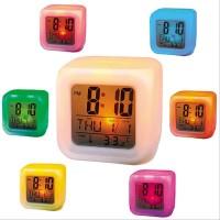 Jam Alarm Weker Waker Digital Moody Clock Berubah Warna 7 Color Change