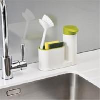 Sink Tidy Set Dispenser Sabun Tempat Sikat Gigi Odol Soap Tooth paste