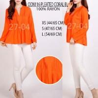 SALE Baju Branded Wanita Blouse Merk Old Navy, Coral and Peach