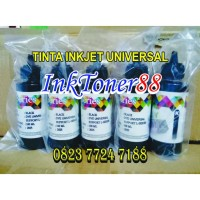 Tinta Refill Inkjet Dye KOREA ORIGINAL 100ML FOR HP WARNA BLACK