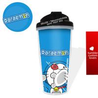 Tumbler botol minum custom / tumbler Doraemon + BOX