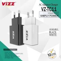 Batok Kepala Charger Vizz VZ TC11 Original 1 USB Garansi