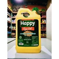 HAPPY SOYA OIL INDOFOOD MINYAK KEDELAI JERIGEN 5L