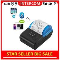 Zjiang 5805DD Mini Portable Bluetooth Thermal Printer POS / ZJ-5805