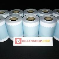 Kertas printer 58x40 mm struk kasir edc thermal cetak biru 10 Roll