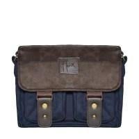 Tas Kamera Messenger Camera Bag Sling bag - HONX 008 - NAVY