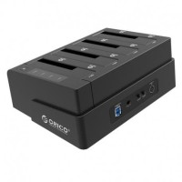 Orico 6648US3-C 4 Bay USB 3.0 SATA Hard Drive Docking Station/Duplicator for 2.5 inch & 3.5 inch HDD