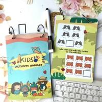 Kids Activity Booklet/ Buku Aktivitas Anak Balita /TK /SD