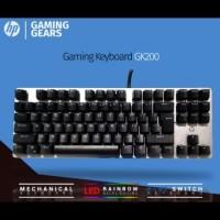 HP GK200 Keyboard Mechanical Gaming Original Garansi Resmi