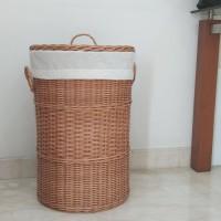 Keranjang Rotan Baju Jumbo /Laundry Basket