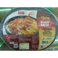 Fiesta Chicken Curry with rice 320g Ready Meal nasi dan lauk