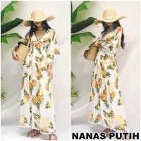 Long Maxi Dress Boho Bohemian Bangkok Pantai Korea Etnik Bali sexy