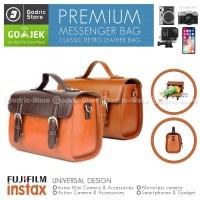 Tas Kamera Messenger Klasik Untuk Fujifilm Instax Mini 9 50 Instax Sha