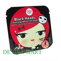 Cathy Doll Black Heads Cleansing White Clay Mask Caty Dol Black Head