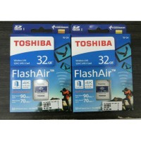 Toshiba FlashAir Wireless Card 32GB WIFI SD CARD UHS 3 Flash Air w-04