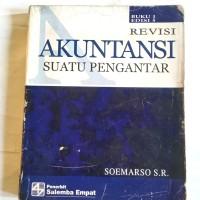 Bks AKUNTANSI Suatu Pengantar Buku 1 Edisi 5 Revisi #Soemarso SR#
