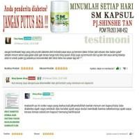 SM kapsul obat herbal diabetes