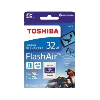Toshiba Flash Air Wireless Sd Card Class 10 32Gb - Cw-4 Cl10 - White