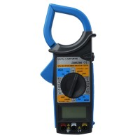 Digital Clamp Meter Tester Multimeter Tang Ampere AC DC DM6266