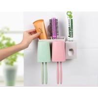 Tempat Penyimpanan Sikat Gigi Tutup Warna Warni -Travel Toothbrush Box