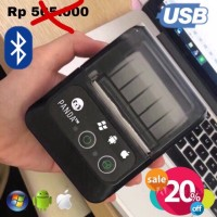 MINI PORTABLE/MOBILE RECIEPT POS PRINTER PANDA PRJ-58B 58MM KERTAS