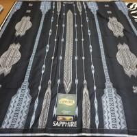 Sarung SAPPHIRE Super Premium SGJ Songket Gunungan Jacquard