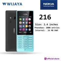 HP SELFIE MURAH NOKIA 216 GSM | JADUL SMS/TLP KAMERA 0.3MP MICRO SD