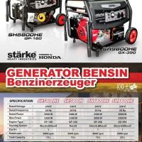 genset honda starke sh5800 h manual output 2000 watt